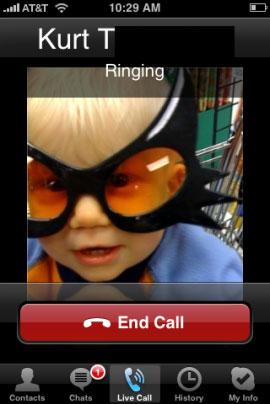 Skype soseste in sfarsit nativ pe iPhone