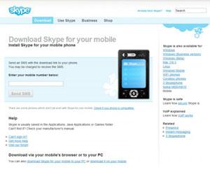 Skype lanseaza un nou beta pentru mobil