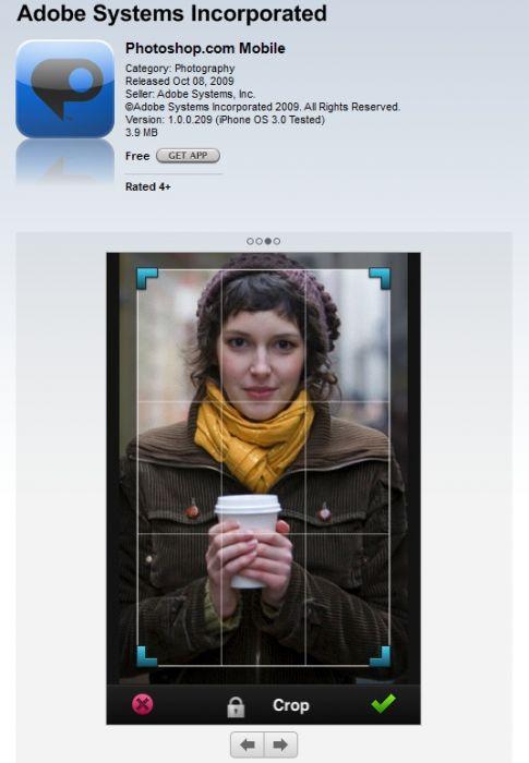 adobe photoshop este disponibil acum pe iphone gratuit. Black Bedroom Furniture Sets. Home Design Ideas