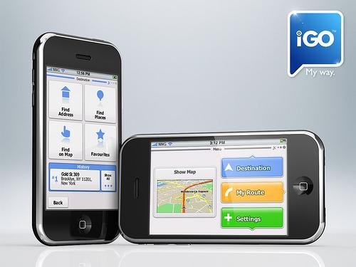 iGO pentru iPhone