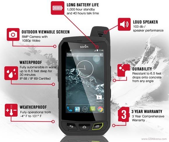 Sonim XP7 este cel mai rezistent telefon cu Android și LTE din lume