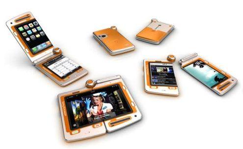 Sony Ericsson FH, un telefon care se poate desparti in 2 segmente