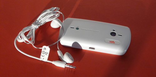 Sony Ericsson Live With Walkman - camera