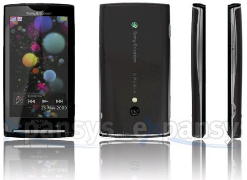 Sony Ericsson Rachael este de fapt XPERIA X3, specificatiile acum disponibile