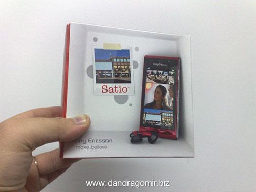 Sony Ericsson Satio, telefon cu camera de 12 megapixeli testat in Romania