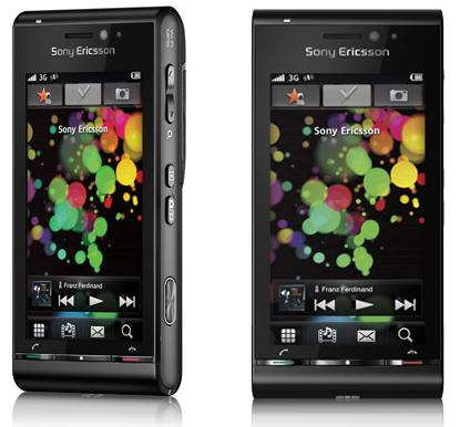 Sony Ericsson Satio - Idou