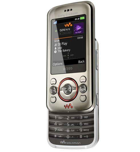 Sony Ericsson anunta cel mai ieftin telefon Walkman: W395