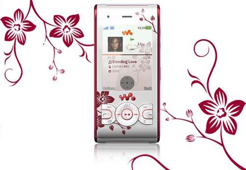 Sony Ericsson W595, editia Cosmopolitan Flower, cadoul ideal de 8 martie