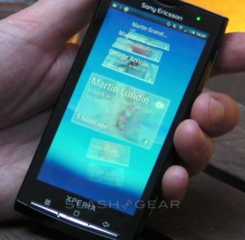 Sony Ericsson XPERIA X10 anuntat oficial si testat la Londra (Video)