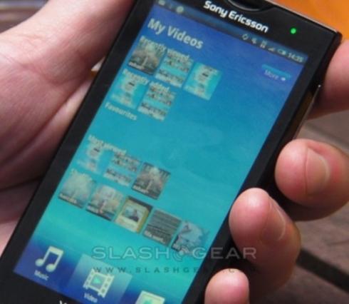 Sony Ericsson XPERIA X10 anuntat oficial si testat la Londra