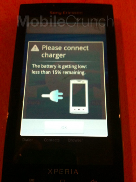 Sony Ericsson XPERIA X3 surprins in actiune; noi imagini disponibile