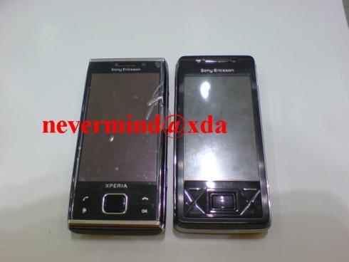 Sony Ericsson XPERIA X2 gata de anuntul oficial; imagini live cu handsetul, acum disponibile