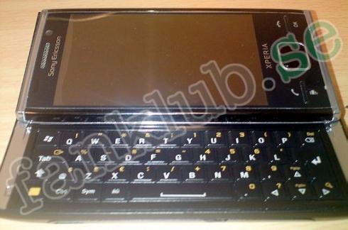 Sony Ericsson XPERIA X2 isi dezvaluie specificatiile