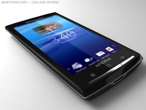 Sony ERicsson Xperia X3 3D