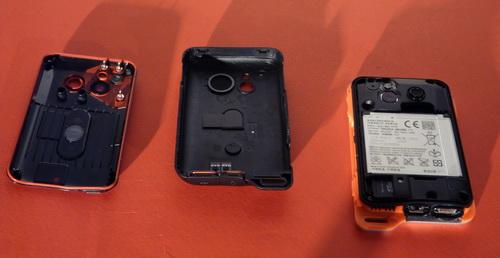 Sony Ericsson Xperia Active, hardware