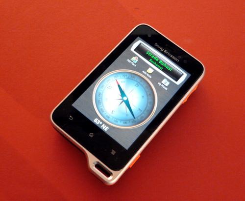 Busola pe Sony Ericsson Xperia Active