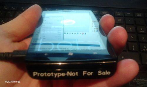 Telefon Sony Ericsson cu Windows Phone la bord, acum sub formă de prototip - iată imagini