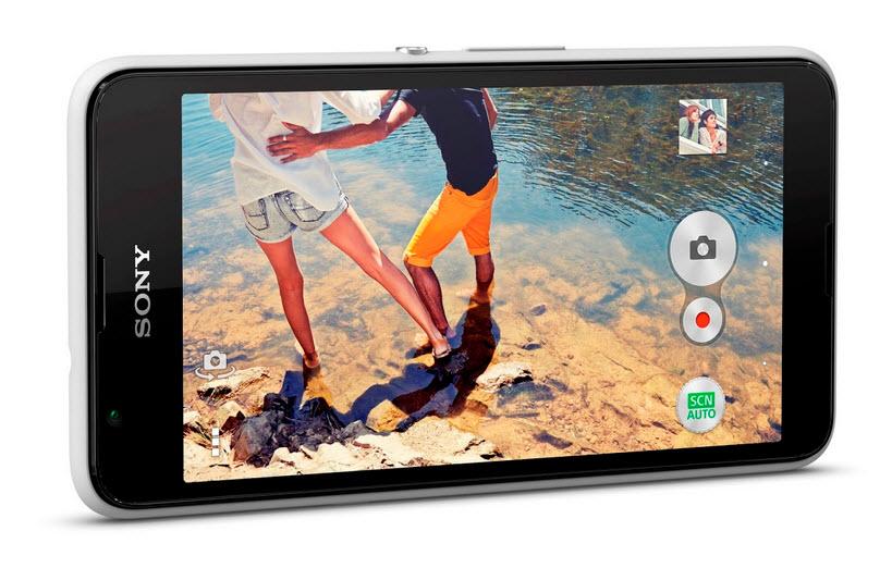 Sony prezintă noul smartphone Xperia E4g, un E4 cu suport 4G LTE în plus