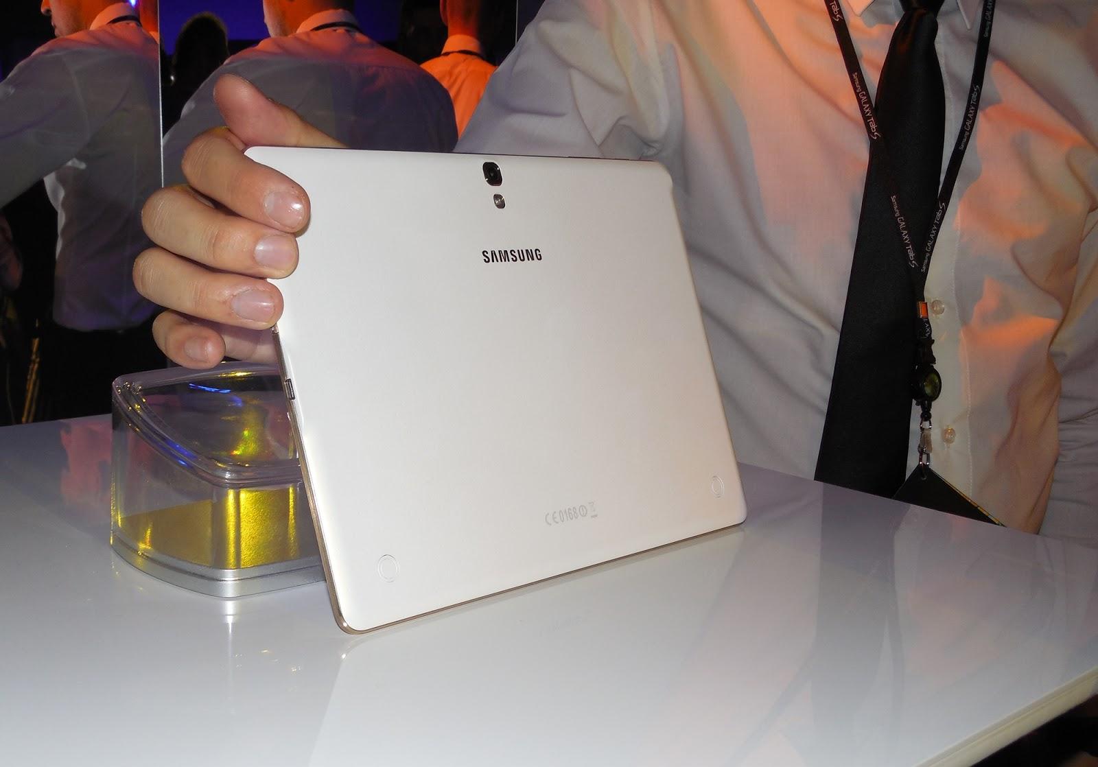 Noua gamă de tablete Samsung Galaxy Tab S lansată oficial pe piața din România În cadrul unui eveniment plin de culoare