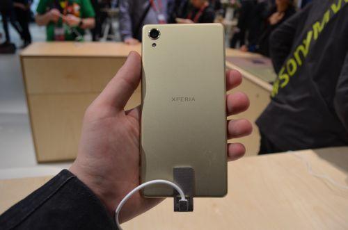 Sony Xperia X din spate