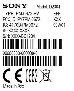 Două noi telefoane Sony Își fac apariția la FCC: D2004 și D2104 ar putea fi Xperia E1 și varianta sa dual SIM