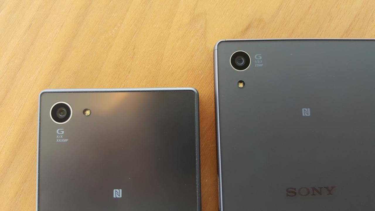 Sony Xperia Z5, Z5 Compact şi Z5 Premium apar în (probabil) ultimele fotografii hands on