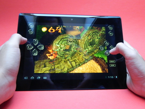 Sony Tablet S gaming