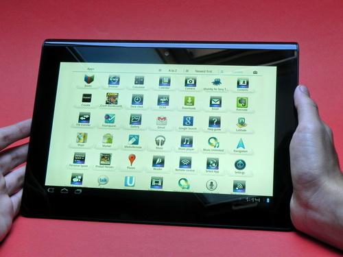 Lista aplicatii Sony Tablet S