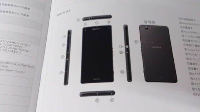 Sony Xperia Z2 Compact va purta numele Xperia A2 În Japonia, apare În primele imagini