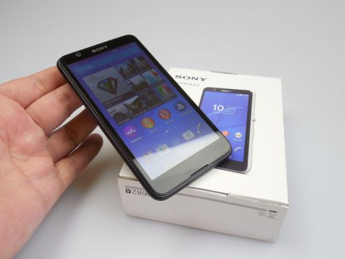 Sony Xperia E4 Unboxing