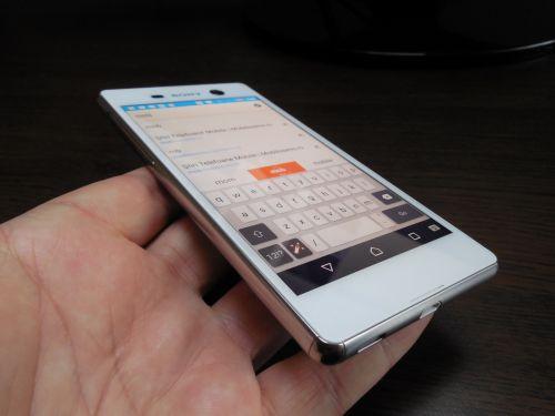 Tastatura lui Sony Xperia M5