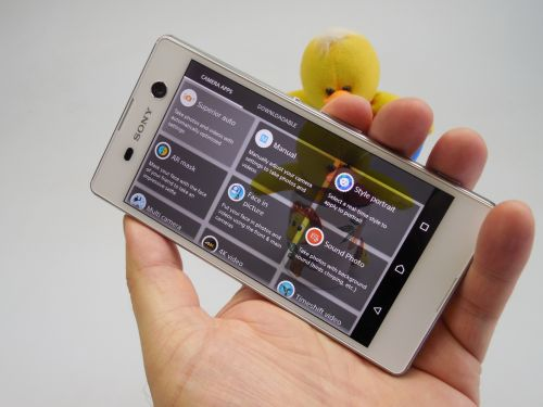 Optiuni camera Sony Xperia M5