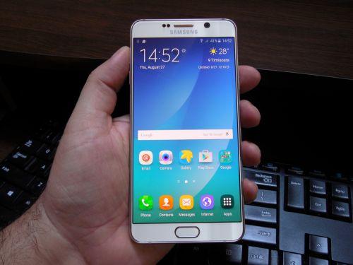 Ecranul lui Samsung Galaxy Note 5