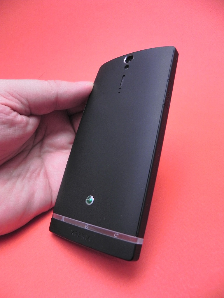 Sony Xperia S - spate telefon
