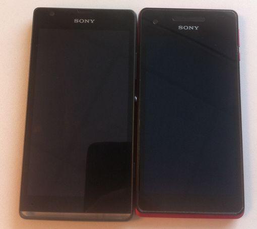 Sony Xperia SP surprins În noi imagini hands on, comparație cu Xperia V