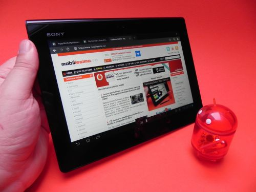Sony Xperia Tablet S - review mobilissimo.ro