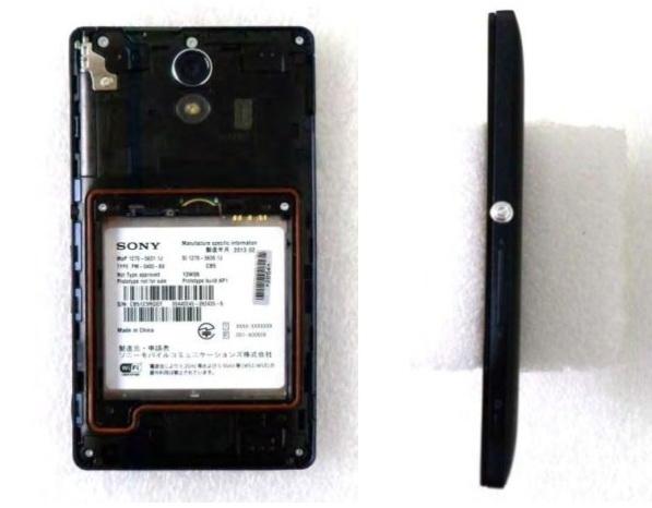 Sony Xperia UL Își face apariția În noi fotografii, vine cu CPU Snapdragon 600