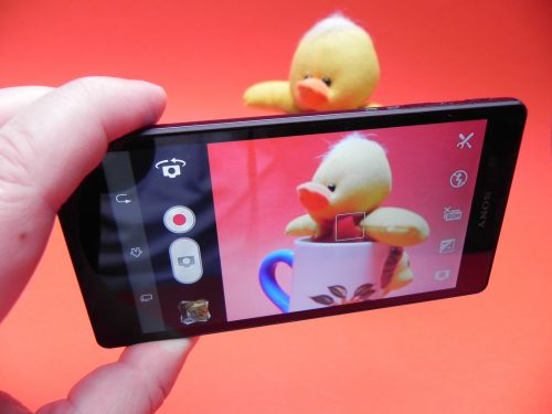 Camera lui Sony Xperia Z