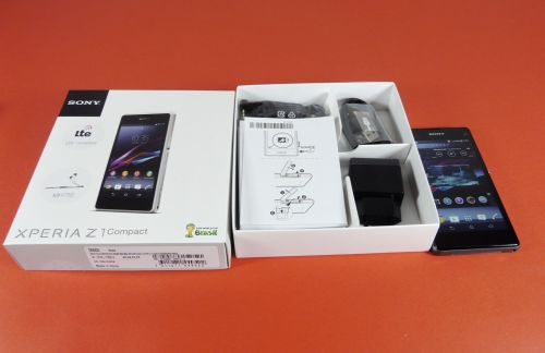 Sony Xperia Z1 Compact Unboxing