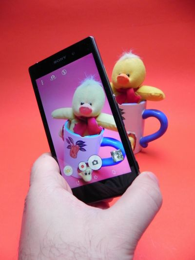 Cum fotografiaza Sony Xperia Z1