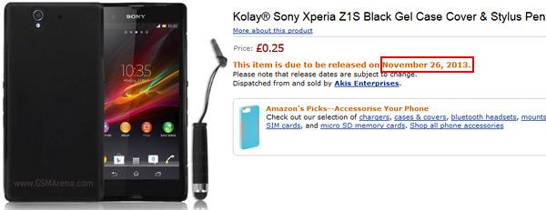 Sony Xperia Z1S fotografiat În Rusia, s-ar putea lansa pe 26 noiembrie