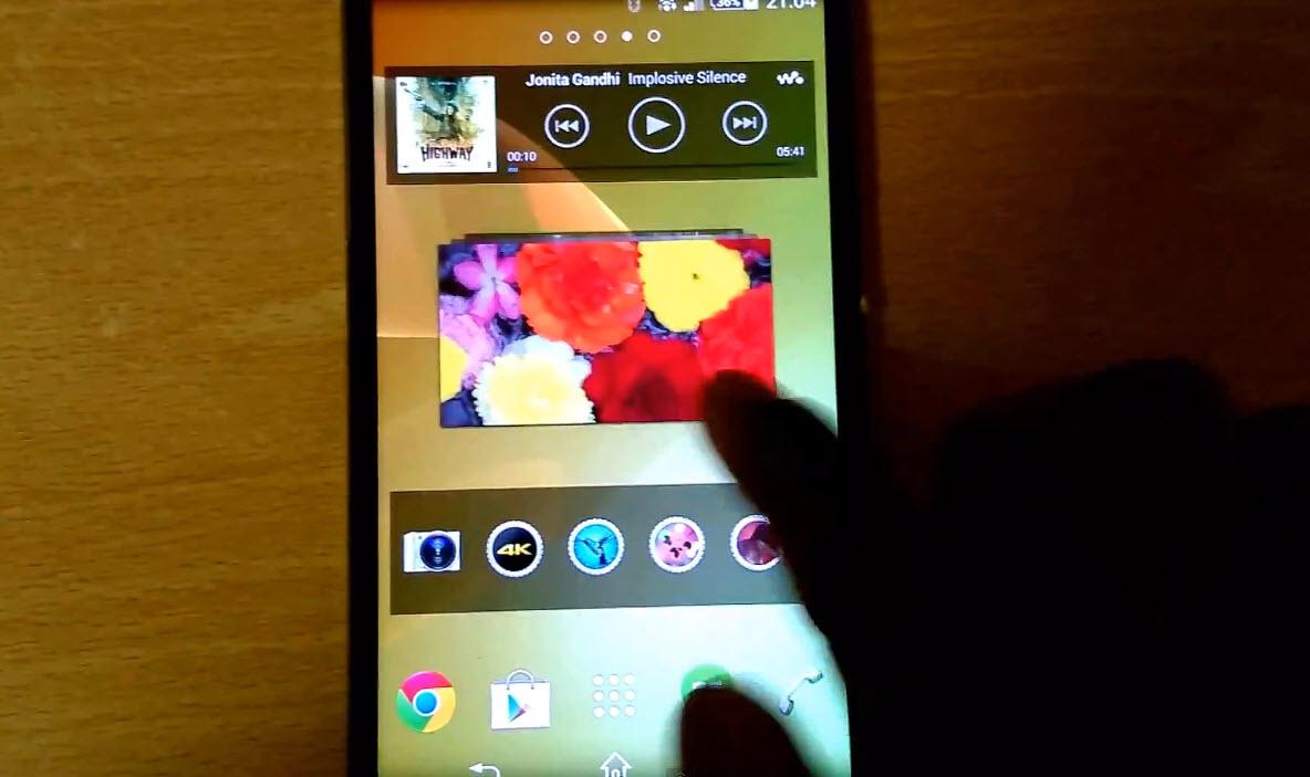 Sony Xperia Sirius aka Z2 apare Într-un clip hands on detaliat; Iată interfața sa personalizata! (Video)