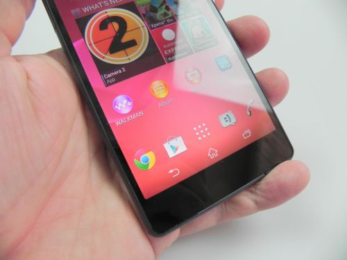 Sony Xperia Z2 are un display de calitate