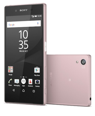 Sony Xperia Z5 anunţat acum şi în varianta roz, gata de Valentine's Day