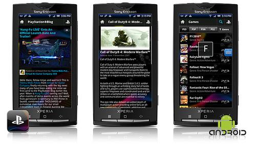Sony anunță aplicația PlayStation oficială pentru Android și iPhone