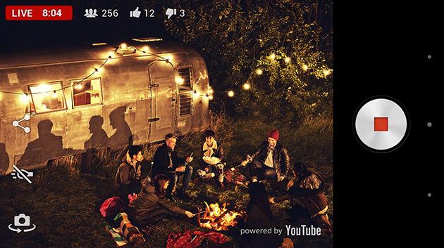 Sony Xperia Z2 suporta streaming direct pe YouTube cu aplicația Live on YouTube