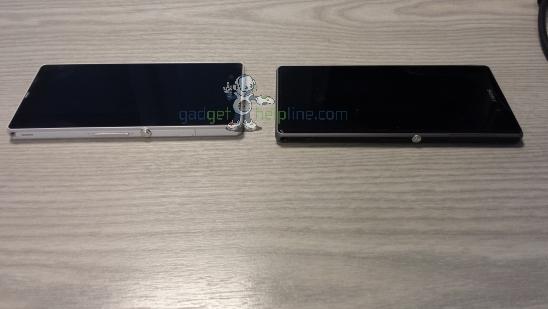 Sony Xperia Honami și Sony Xperia Z comparate În noi fotografii ajunse pe web