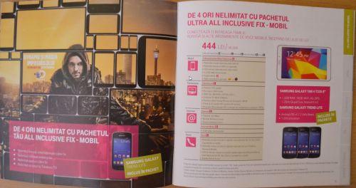 Iată ofertele propuse de Telekom Romania pentru clienți; primim un pachet complet de servicii pe aceeași factură