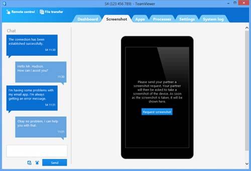 TeamViewer va fi actualizat și va include suport pentru controlul de la distanță al unui telefon