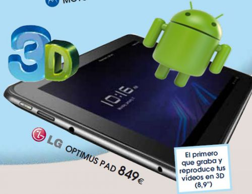 Motorola Xoom și LG Optimus Pad primesc primele prețuri pentru Europa! 699 euro, respectiv 849 euro... poate și În România?